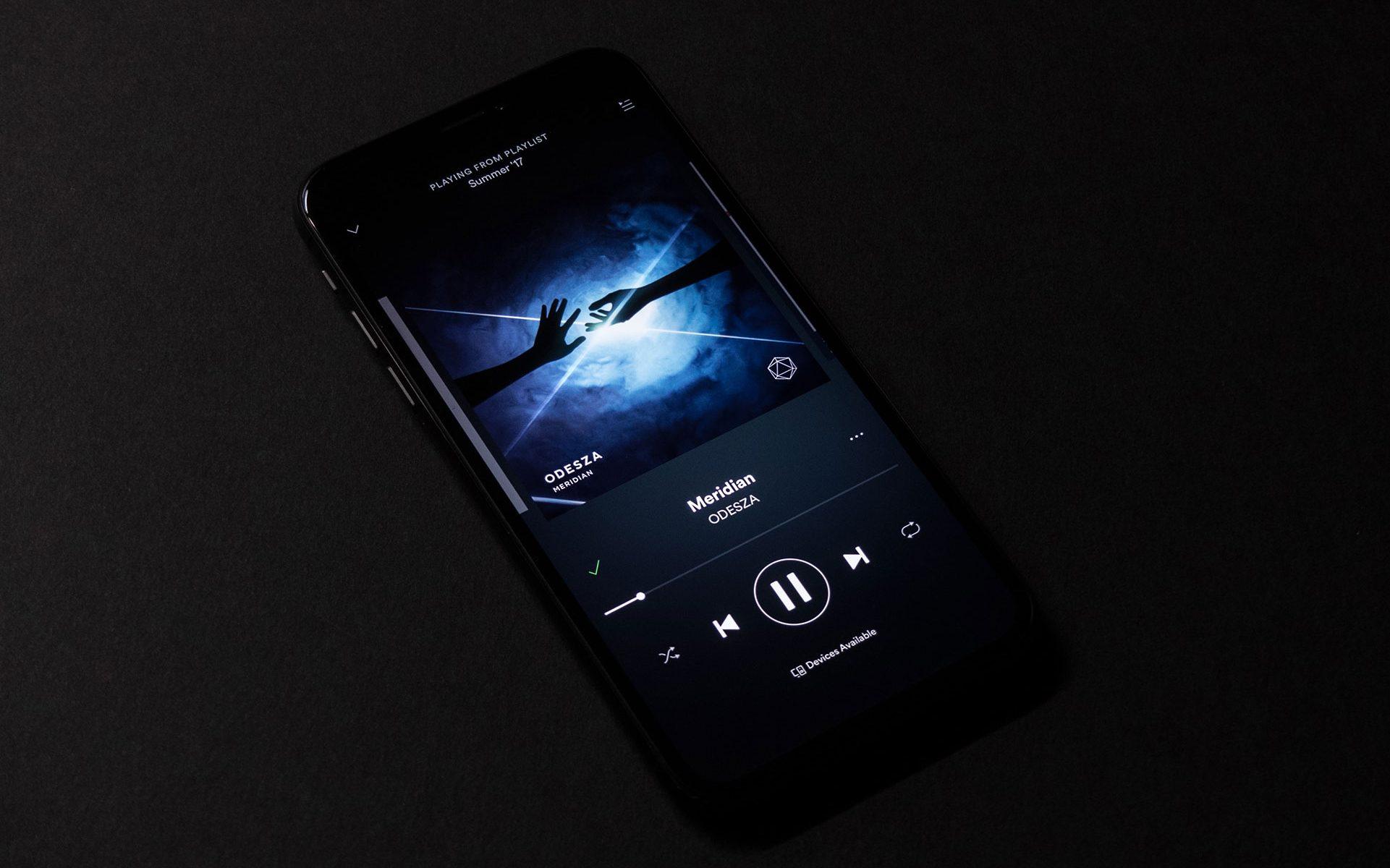 smartphone - music player